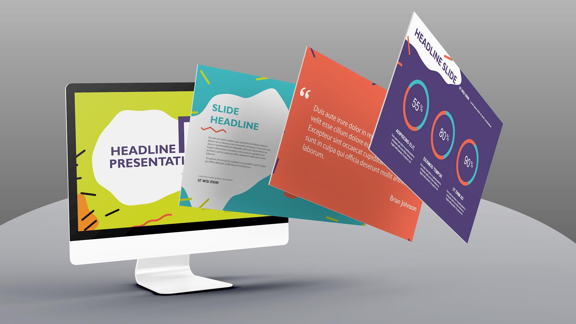 Kleurgebruik PowerPoint